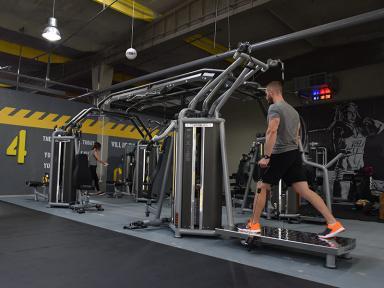 Punct lucru zona fitness